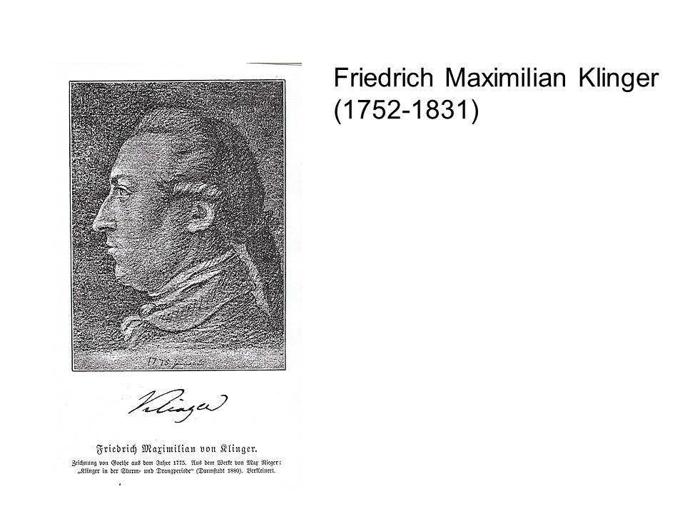 Friedrich Maximilian Klinger (1752-1831)