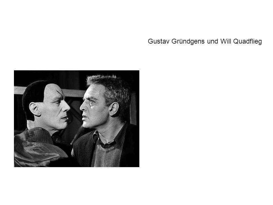 Gustav Gründgens und Will Quadflieg