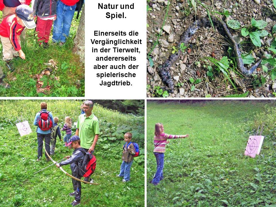 Natur und Spiel.