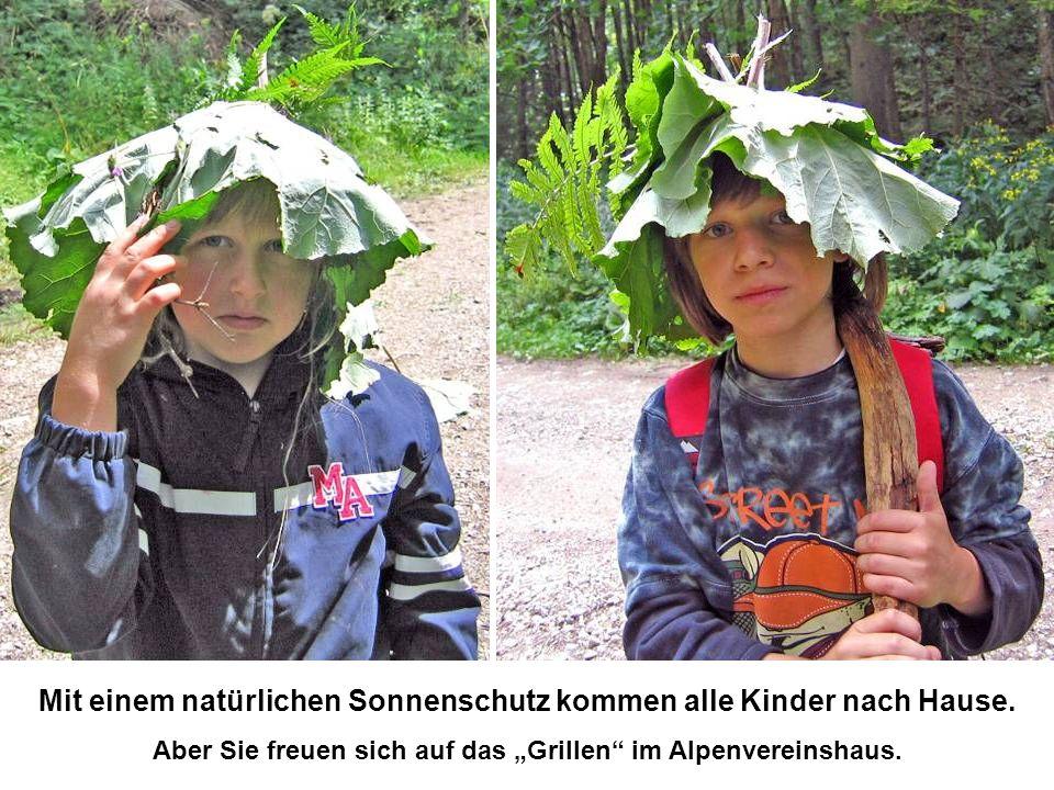 Mit einem natürlichen Sonnenschutz kommen alle Kinder nach Hause.