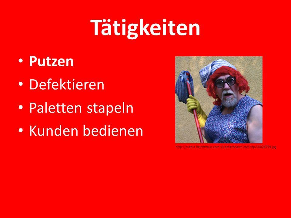 Tätigkeiten Putzen Defektieren Paletten stapeln Kunden bedienen http://media.beichthaus.com.s3.amazonaws.com/bp/00024759.jpg