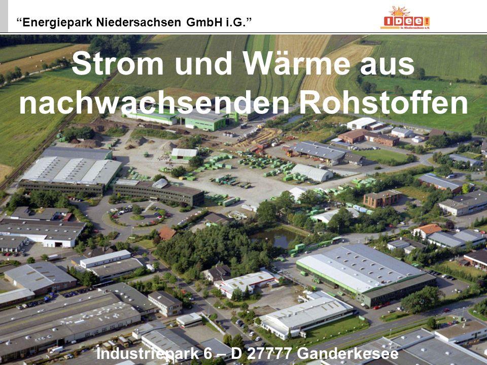 Energiepark Niedersachsen GmbH i.G.1 IDEE in Niedersachsen e.V.