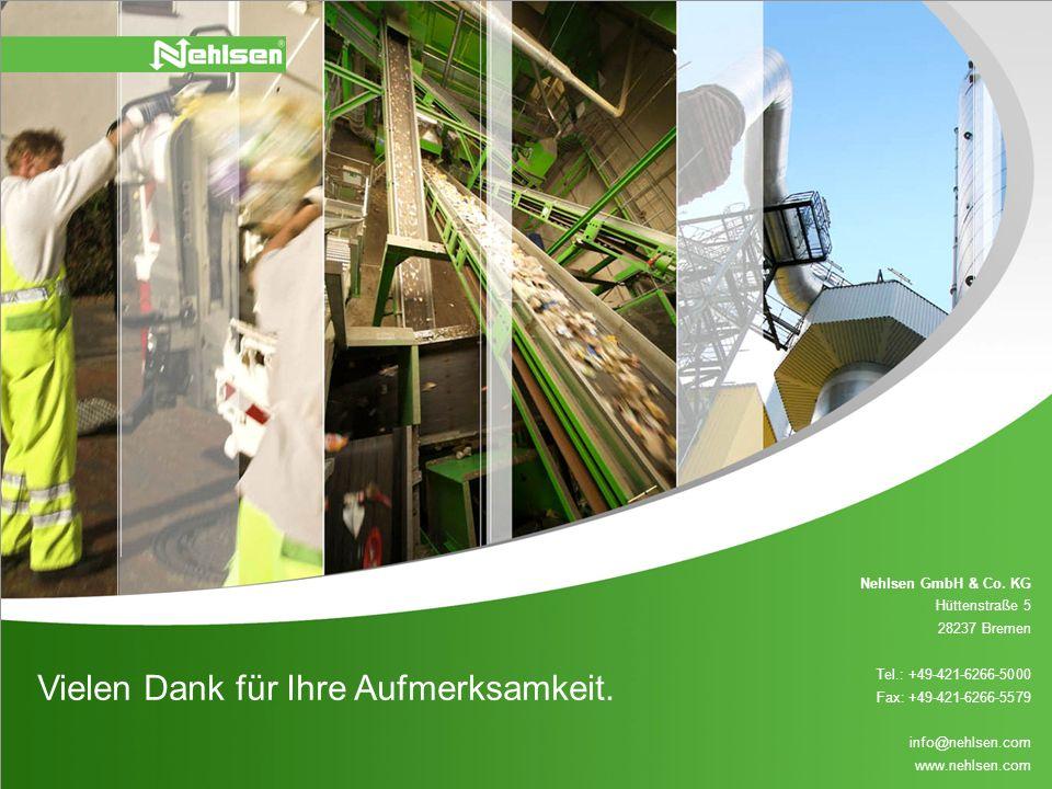 Nehlsen GmbH & Co. KG Hüttenstraße 5 28237 Bremen Tel.: +49-421-6266-5000 Fax: +49-421-6266-5579 info@nehlsen.com www.nehlsen.com Vielen Dank für Ihre