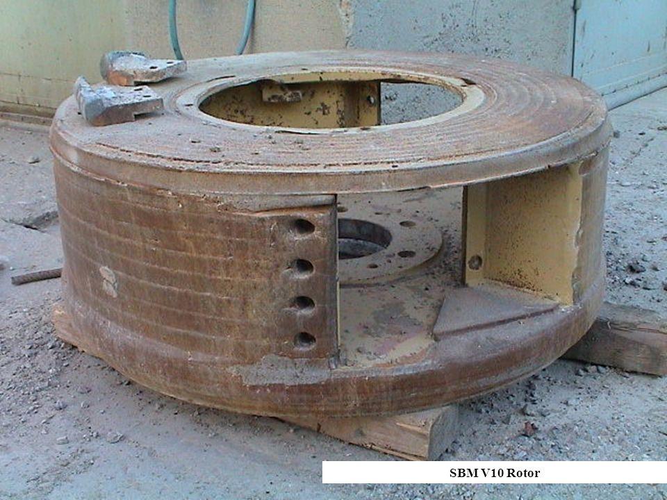 SBM V10 Rotor