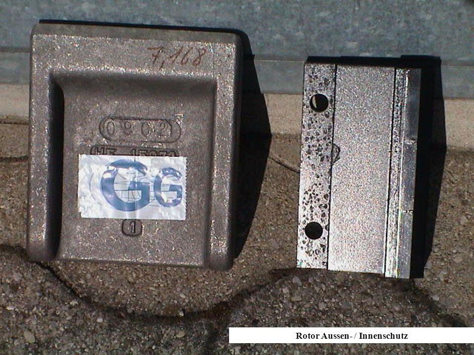 Rotor Aussen- / Innenschutz