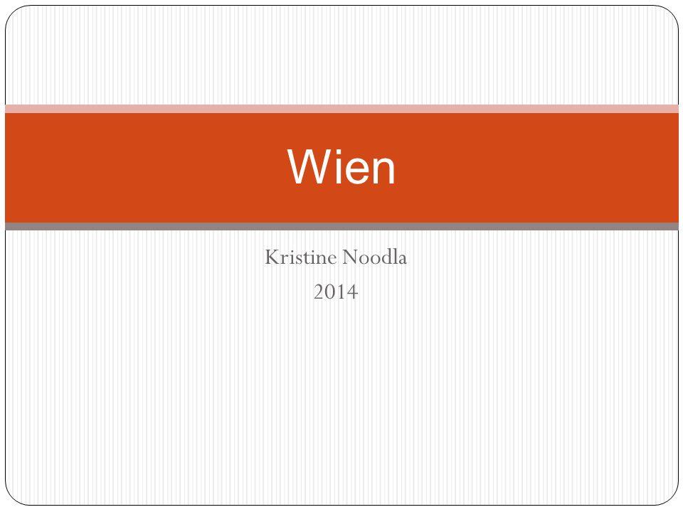Kristine Noodla 2014 Wien