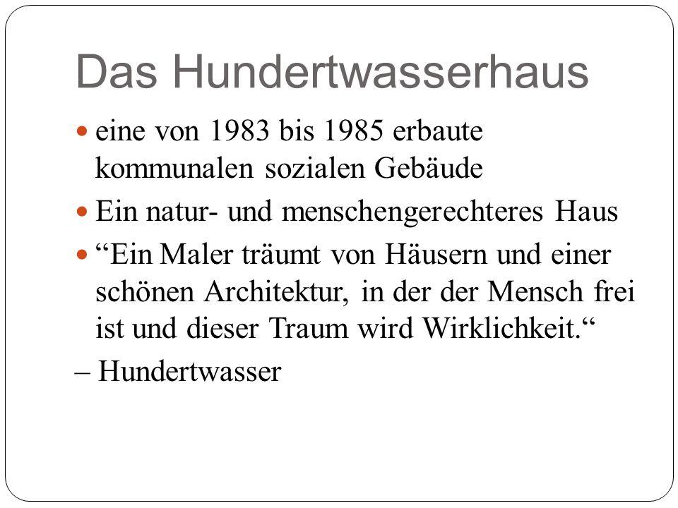 Über Hundertwasser Friedensreich Hundertwasser bürgerlich Friedrich Stowasser, auch Friedensreich Regentag Dunkelbunt Hundertwasser genannt War österreichischer Künstler Ihm Priorität war malen, aber auch im Architektur und Umweltschutz war er tätig