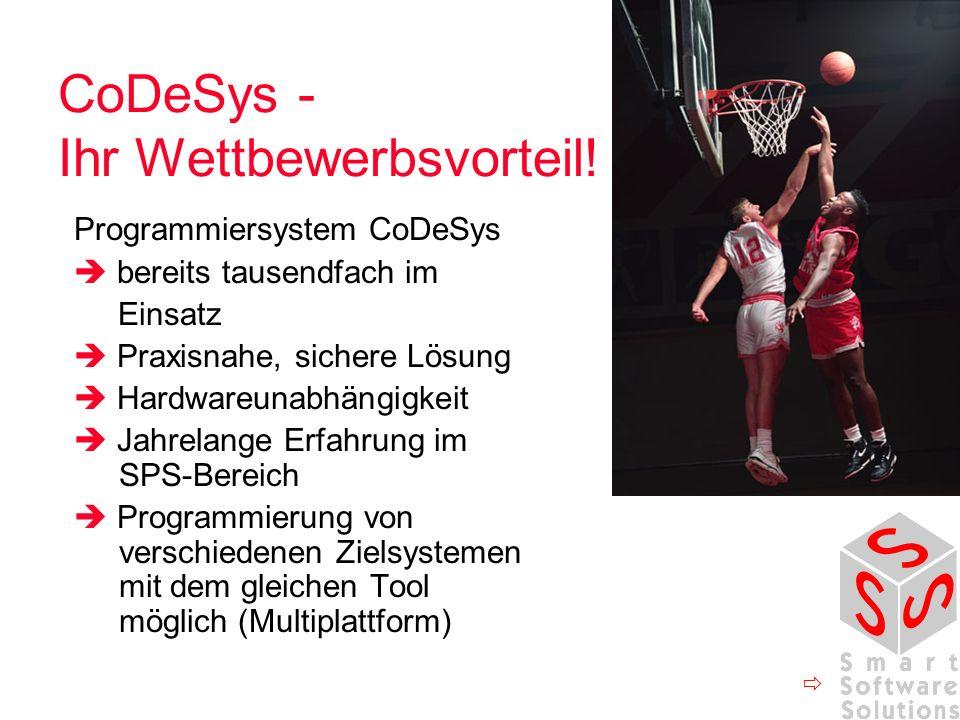 CoDeSys - Ihr Wettbewerbsvorteil.