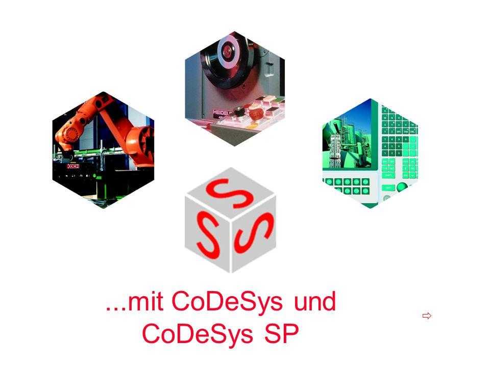 ...mit CoDeSys und CoDeSys SP