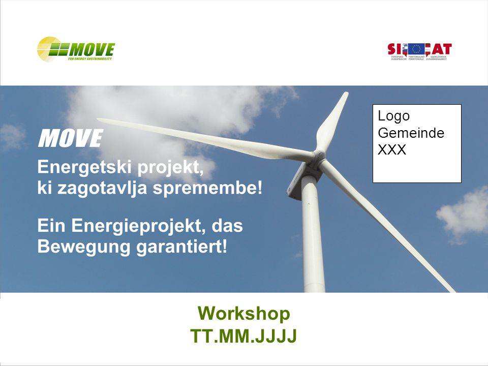 Workshop TT.MM.JJJJ Logo Gemeinde XXX