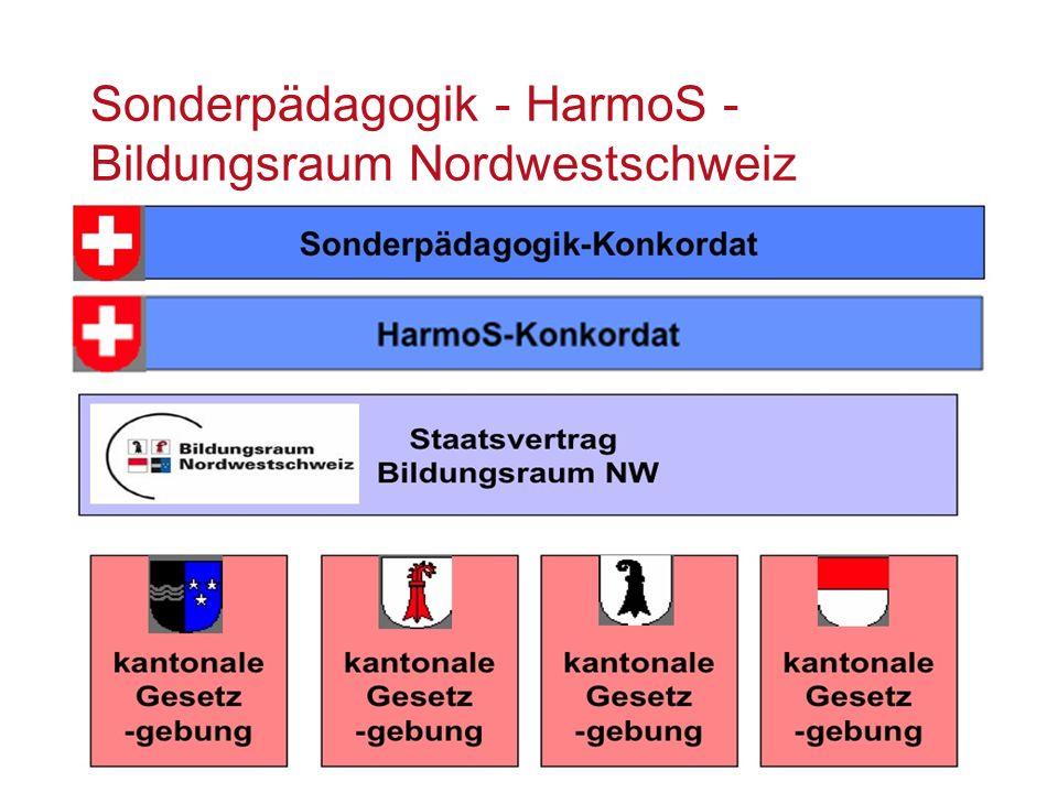 Sonderpädagogik - HarmoS - Bildungsraum Nordwestschweiz