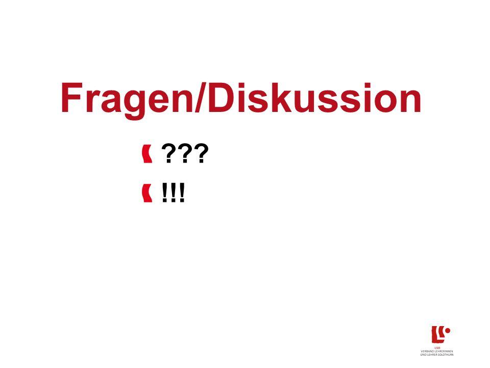 Fragen/Diskussion !!!