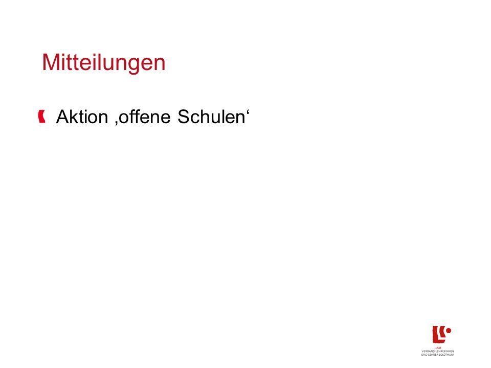HarmoS-Konkordat: Umsetzung Kanton Solothurn Obligat.