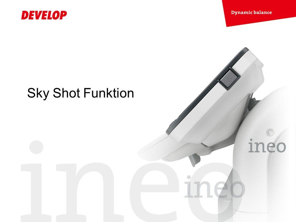 Sky Shot Funktion