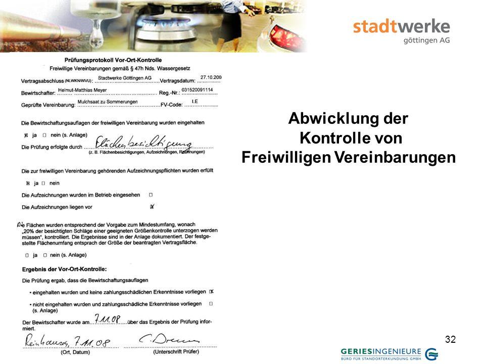 33 Zwischenbericht 2008 Kooperation Trinkwasserschutz Obere Leine