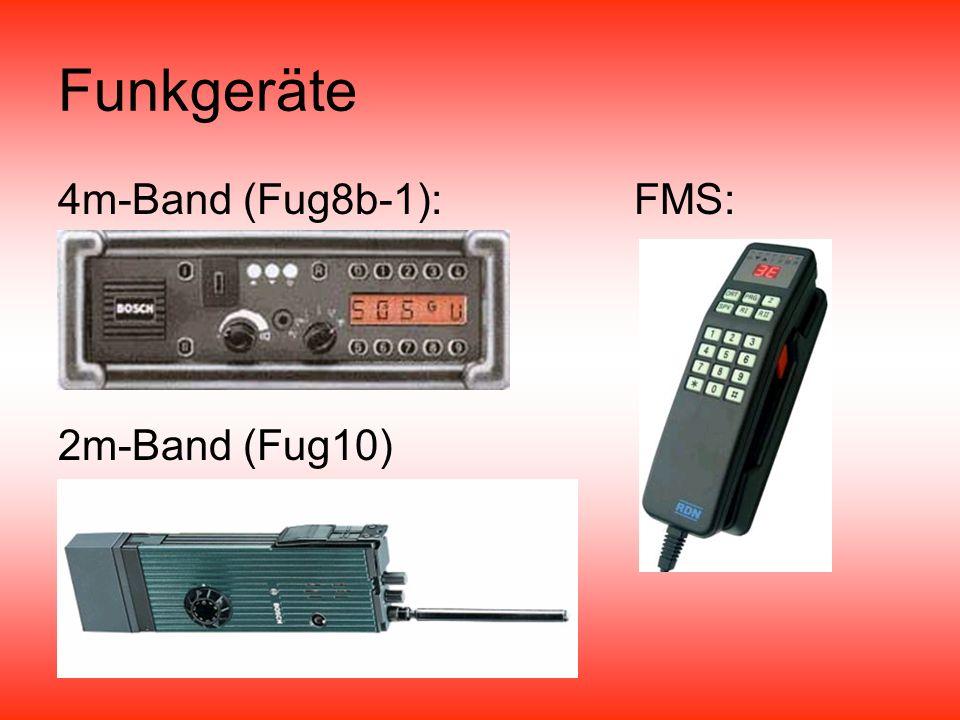 Funkgeräte 4m-Band (Fug8b-1):FMS: 2m-Band (Fug10)