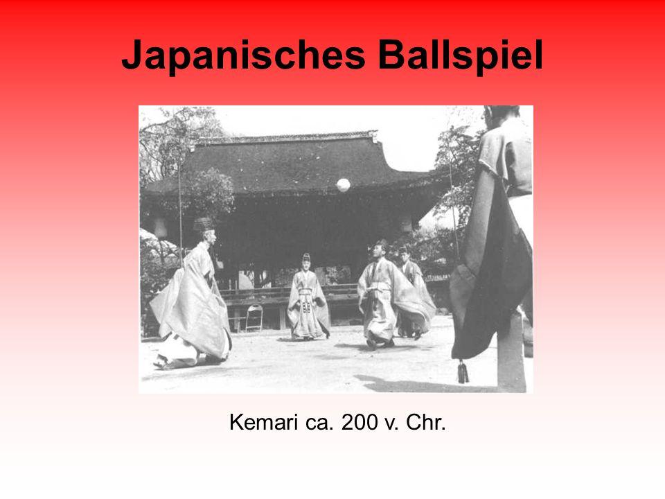 Japanisches Ballspiel Kemari ca. 200 v. Chr.