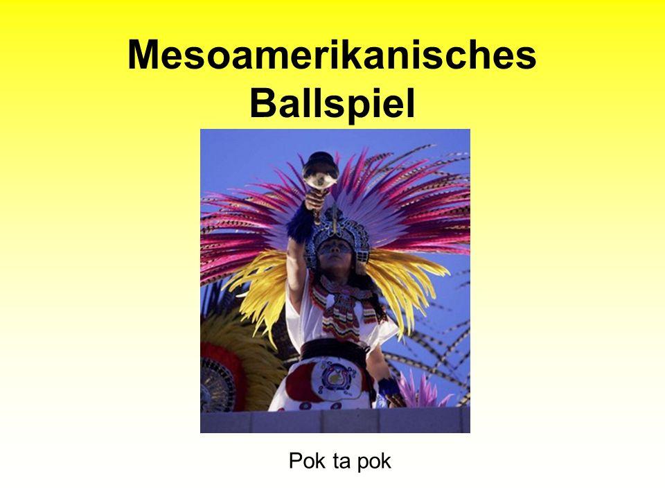 Mesoamerikanisches Ballspiel Pok ta pok