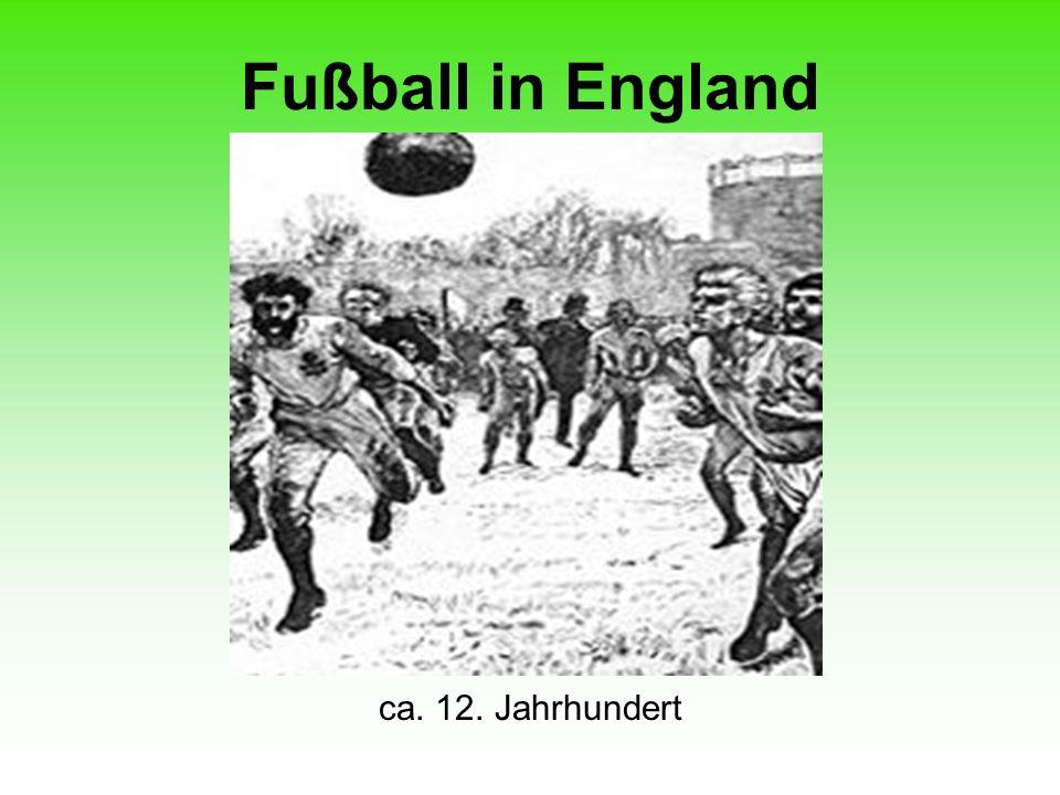 Fußball in England ca. 12. Jahrhundert