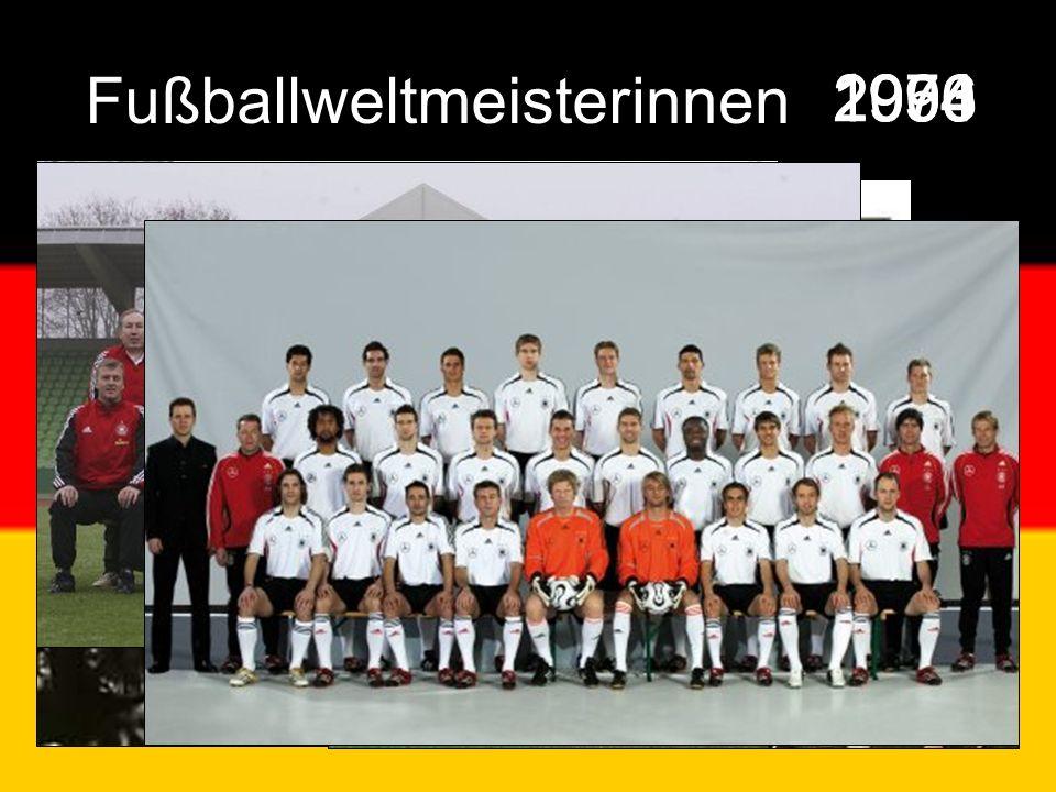 1954 1974 19902003 2006 Fußballweltmeisterinnen