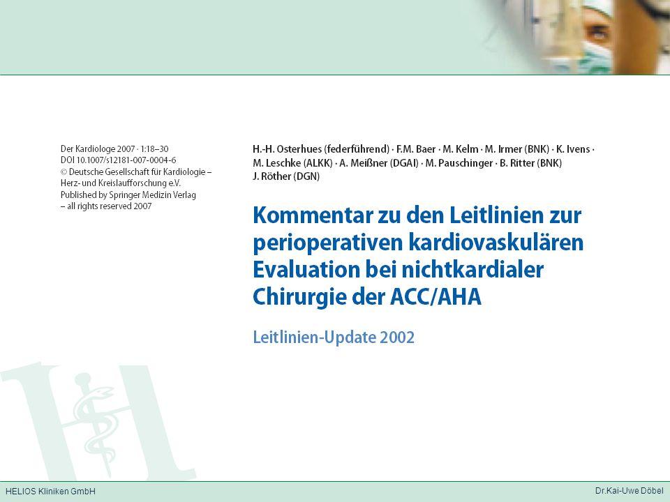 HELIOS Kliniken GmbH Dr.Kai-Uwe Döbel