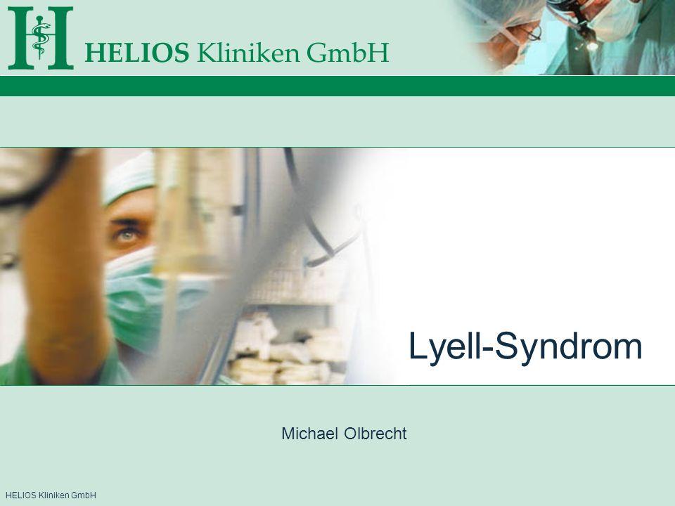 HELIOS Kliniken GmbH Lyell-Syndrom Michael Olbrecht