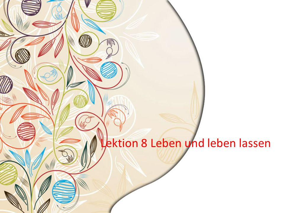 20.05.2014 Text 3 Wortschatz - trennen a.Ein Bach trennt die beiden Grundstücke.