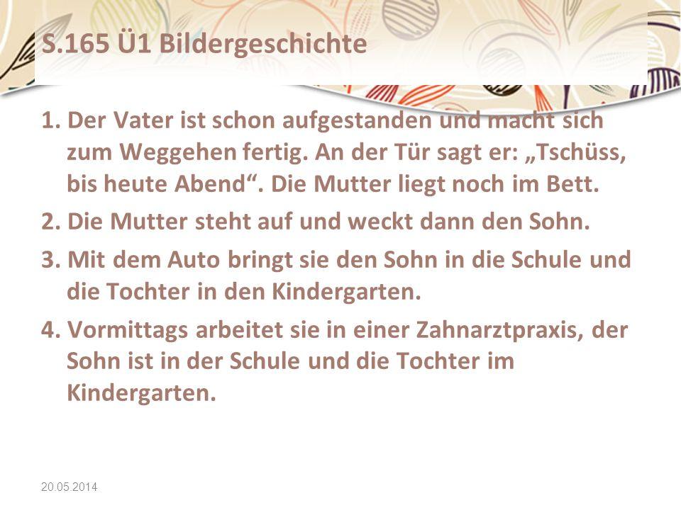 20.05.2014 Text2 Wortschatz immer + Komparativ immer besser/ schneller/ älter/ hübscher/...