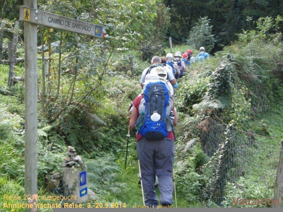 Sich selber Gutes tun – und gleichzeitig spenden Valcarlos Reise 2013 ausgebucht Ähnliche nächste Reise: 8.-20.9.2014 30 Plätze / 4 gebucht