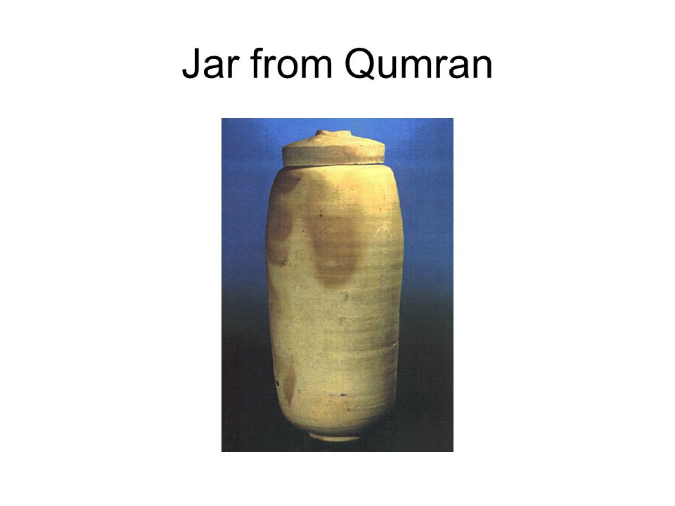 Jar from Qumran