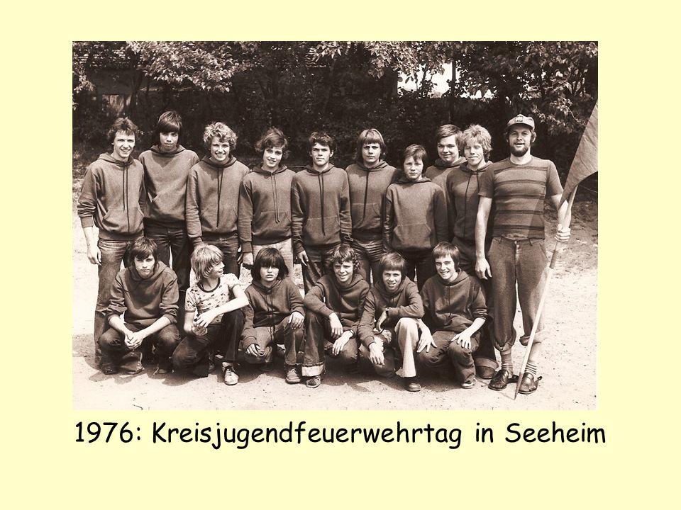 1976: Kreisjugendfeuerwehrtag in Seeheim