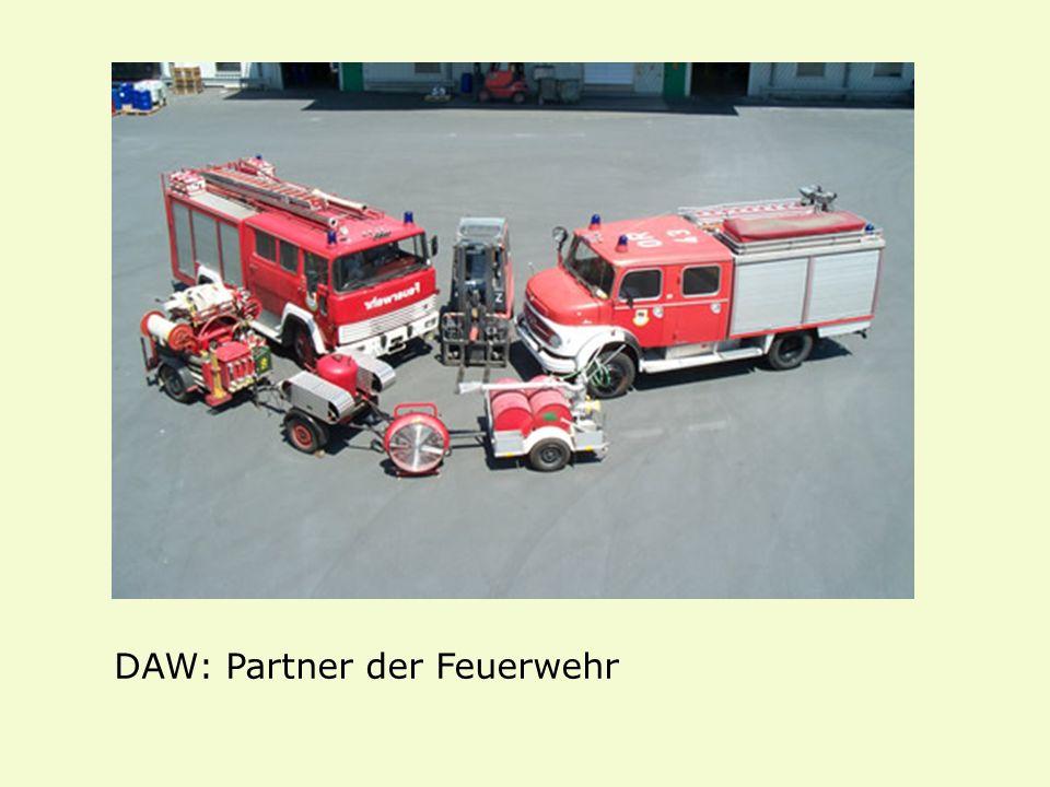 DAW: Partner der Feuerwehr