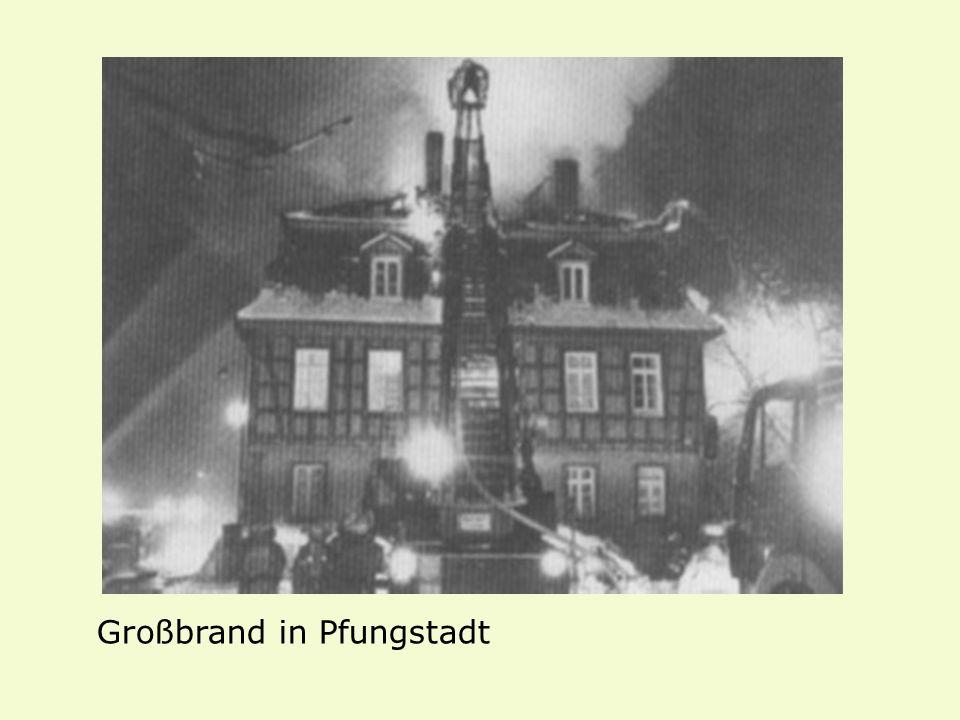 Großbrand in Pfungstadt
