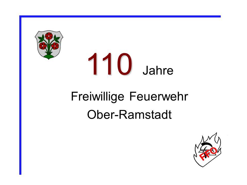 110 110 Jahre Freiwillige Feuerwehr Ober-Ramstadt