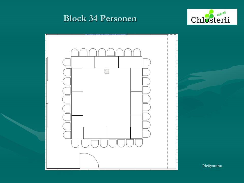 Block 34 Personen Nellystube
