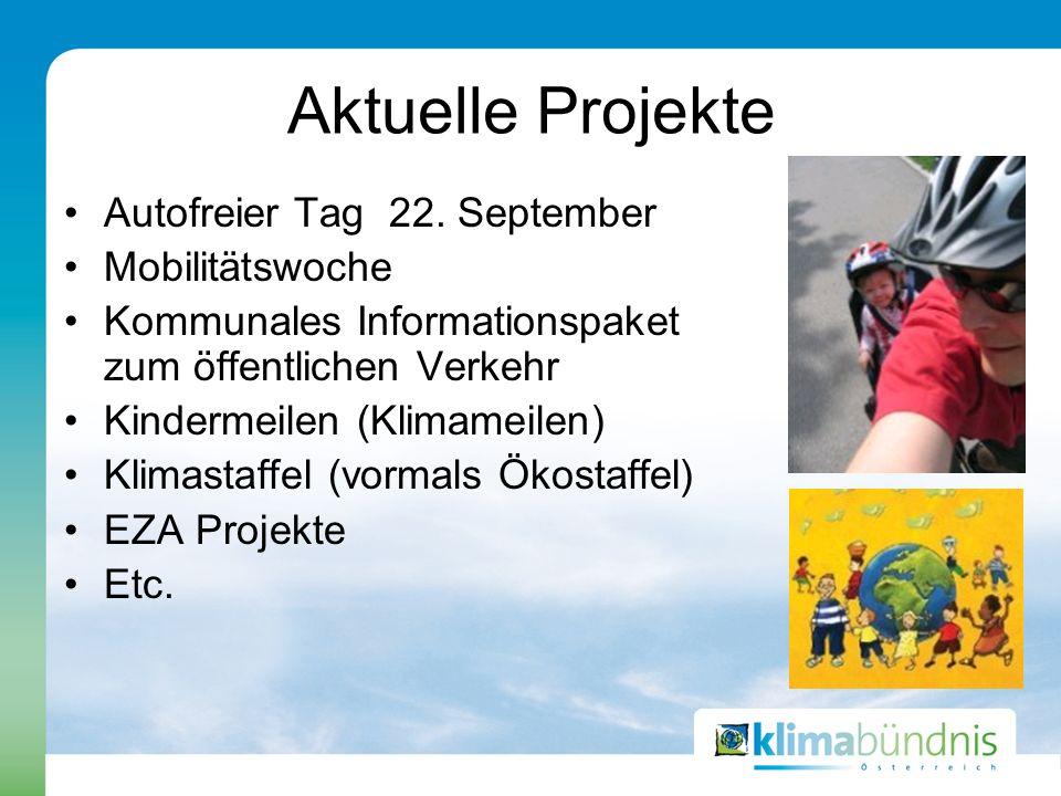 Aktuelle Projekte Autofreier Tag 22.