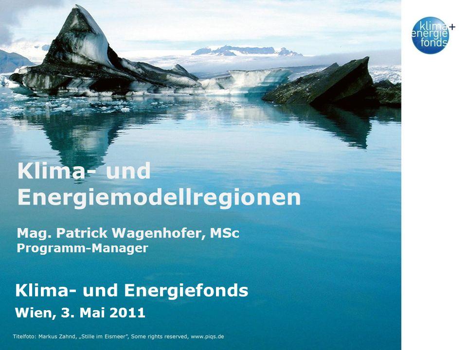Klima- und Energiemodellregionen Mag.