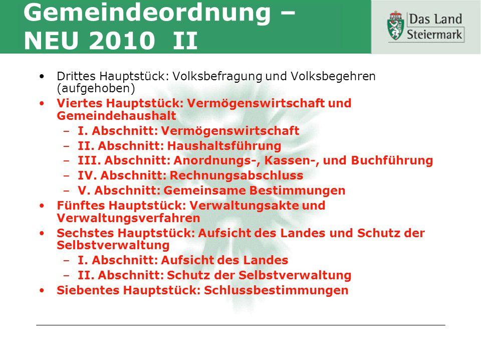 Amt der Steiermärkischen Landesregierung Fachabteilung 7A Gemeinden und Wahlen MMag.