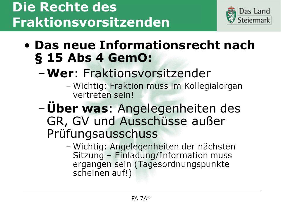 FA 7A © Mündelsichere Veranlagung (gem.