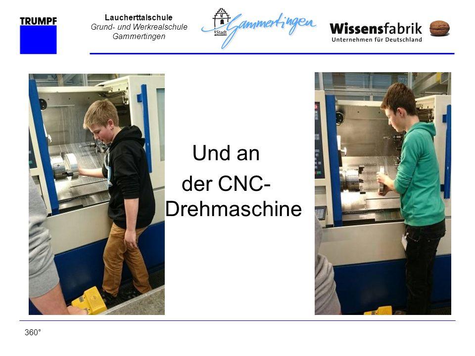 Laucherttalschule Grund- und Werkrealschule Gammertingen Das Ergebnis des zweiten Tages 360°