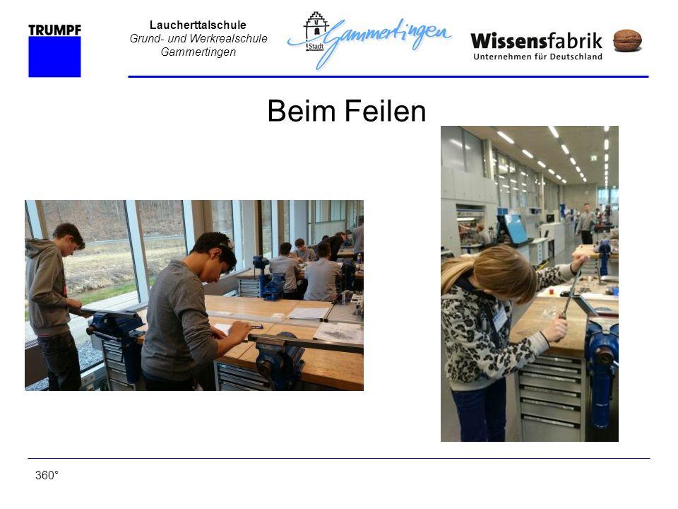 Laucherttalschule Grund- und Werkrealschule Gammertingen Beim Feilen 360°