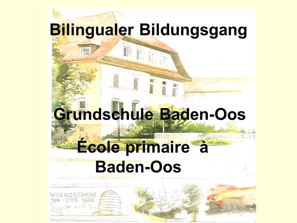 Bilingualer Bildungsgang Grundschule Baden-Oos École primaire à Baden-Oos