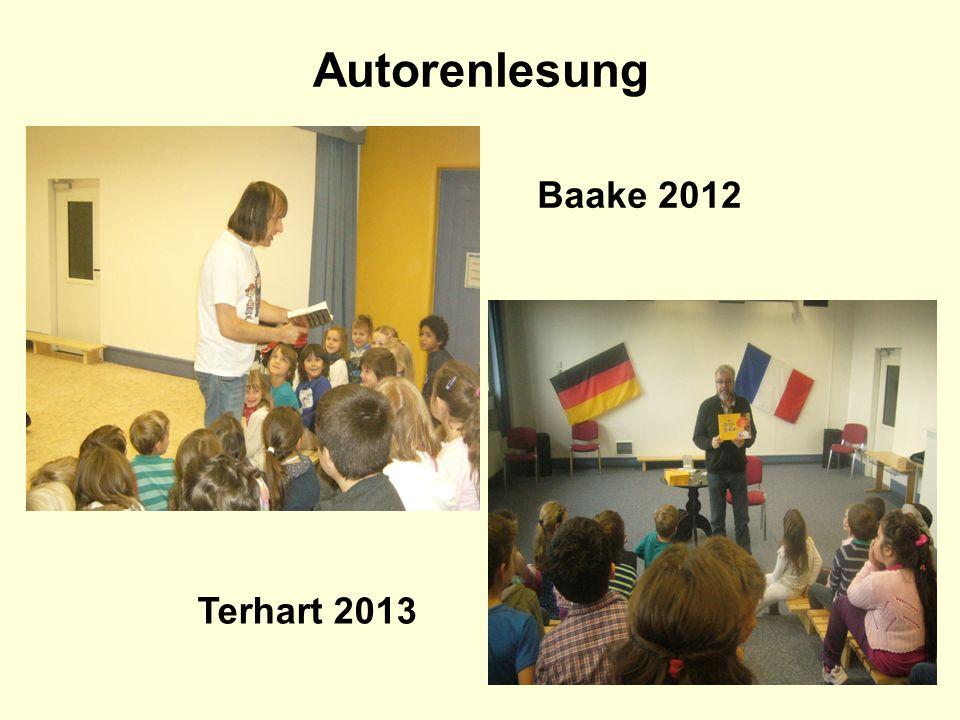 Autorenlesung Baake 2012 Terhart 2013