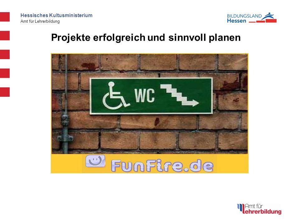 Hessisches Kultusministerium Amt für Lehrerbildung Projektmanagement Projektmanagement in Unterrichtsprojekten SchuB SchuB - IV Kurs 2 Modul 3 Frei nach (Dr.