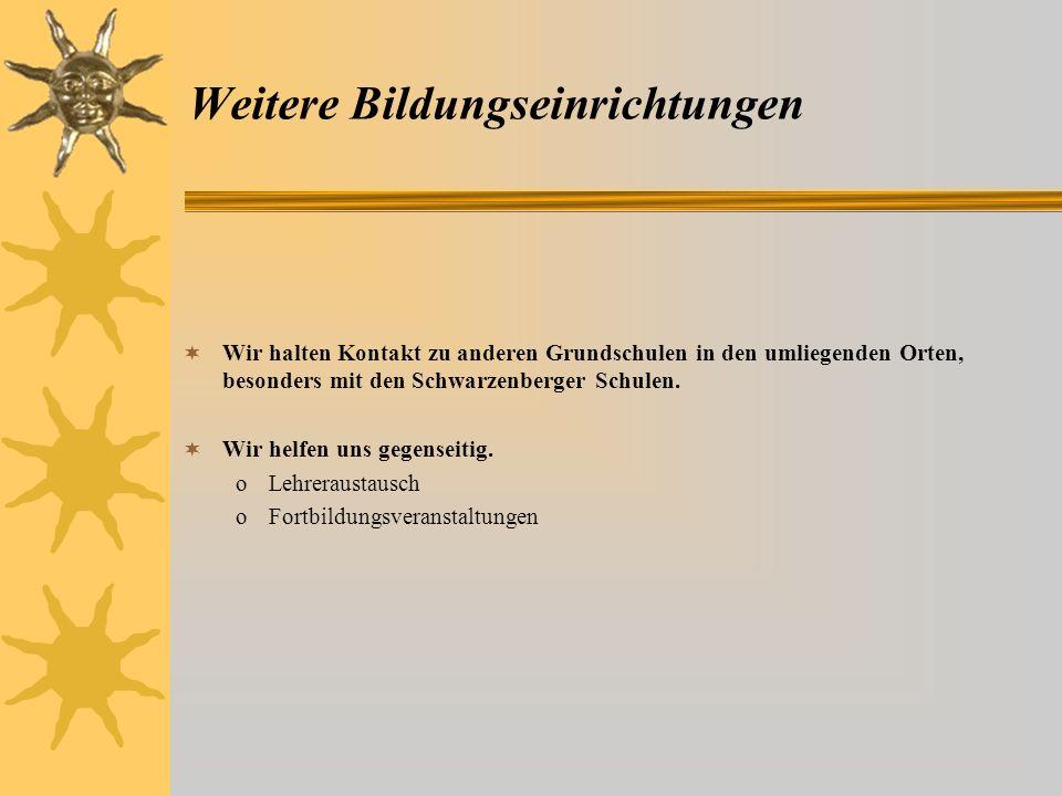 Mittelschule / Gymnasium Zu Schuljahresbeginn nutzen die Viertklässler ein Angebot der Stadtschule Schwarzenberg am Sommerfest teilzunehmen und dabei