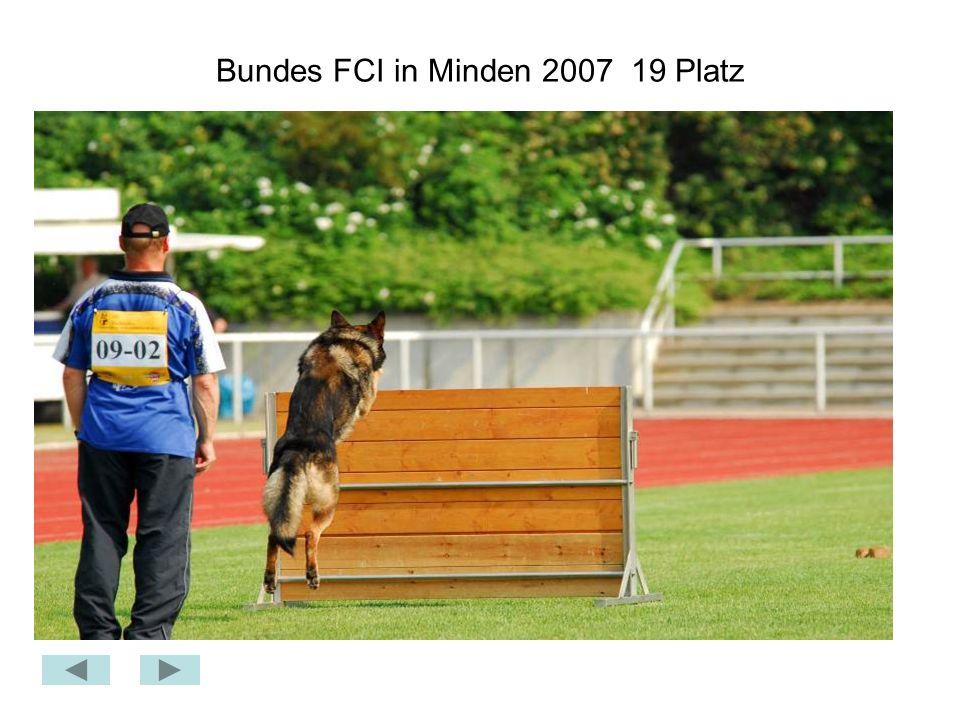 Bundes FCI in Minden 2007 19 Platz