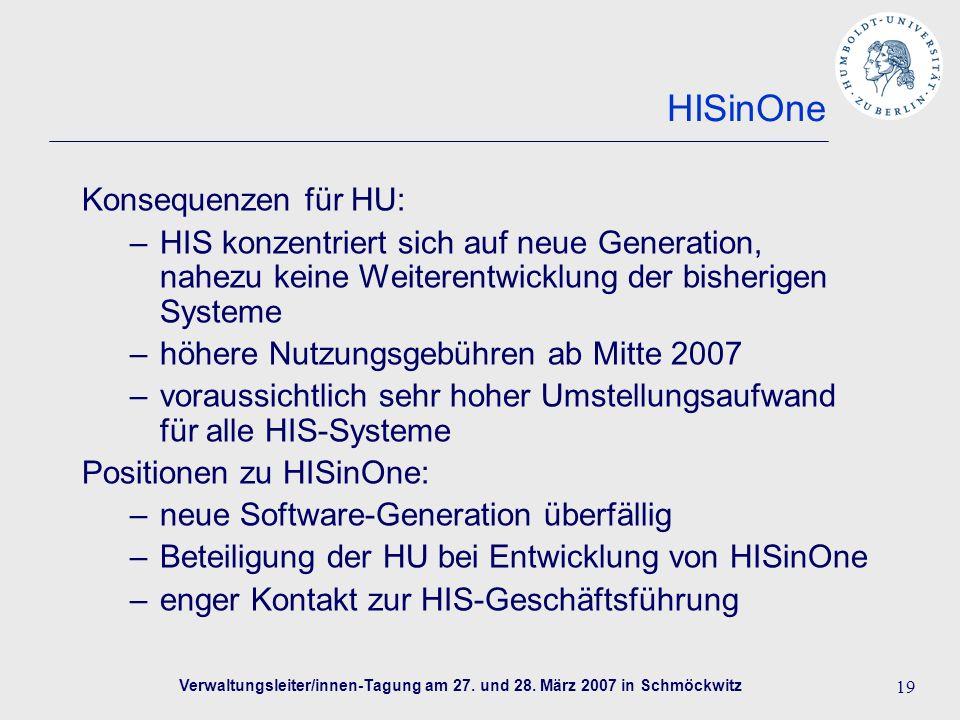Verwaltungsleiter/innen-Tagung am 27. und 28.