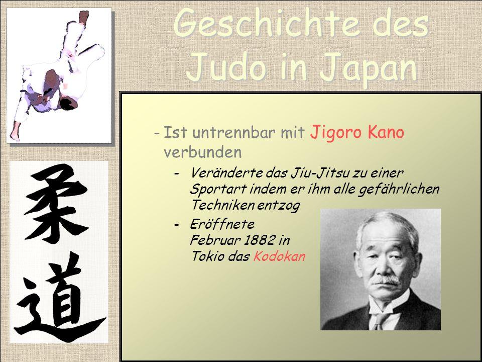 Jiu-Jitsu -Ist eine alte Kunst der Selbstverteidigung Die Ursprünge werden in China vermutet -Wurde Ende des 19.Jahrhunderts in Japan wieder populäre