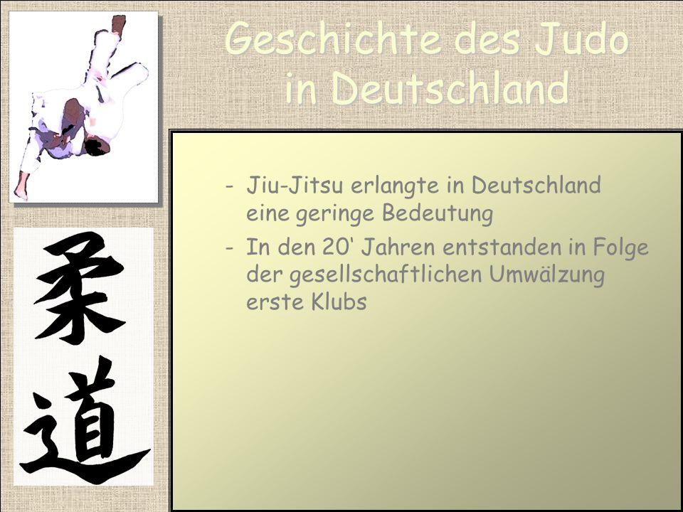 Geschichte des Judo in Japan -Ist in Japan schon seit langen ein Unterrichtsfach an der Schule