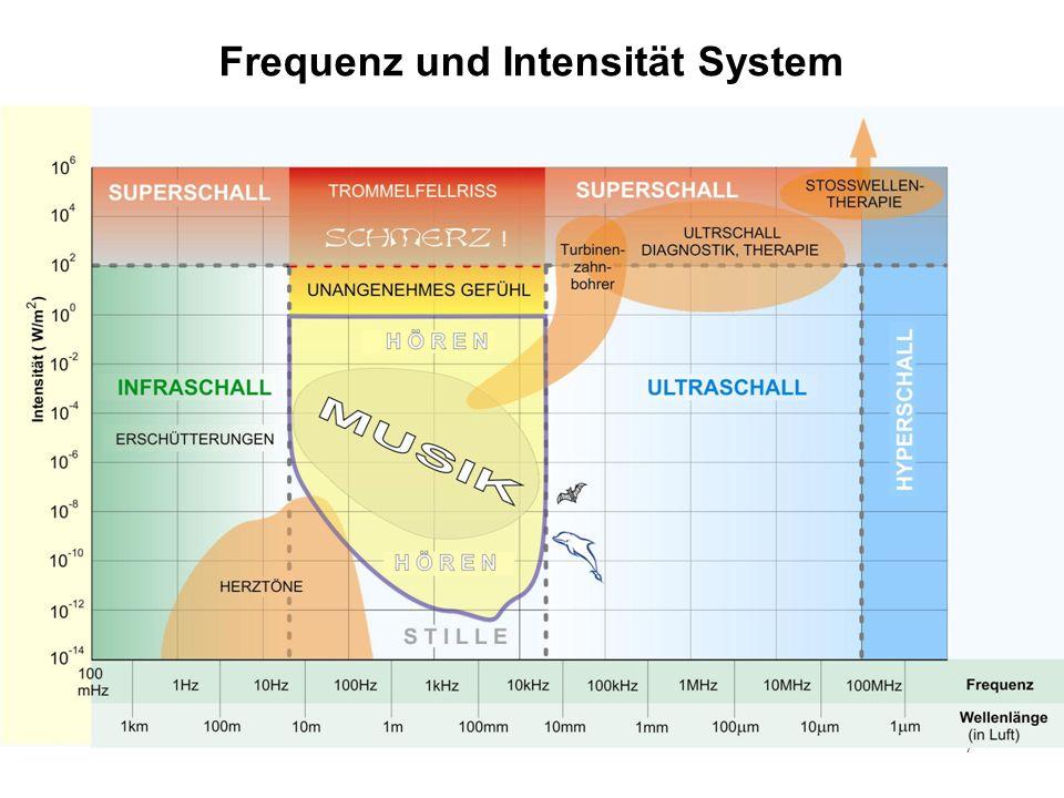 7 Frequenz und Intensität System